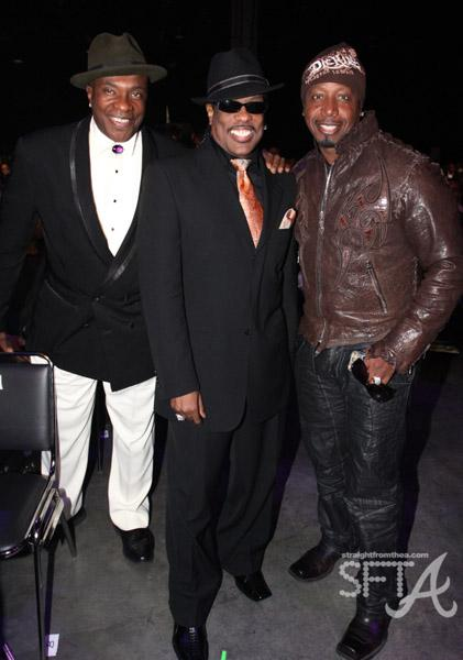 Keith David, Charlie Wilson, and MC Hammer