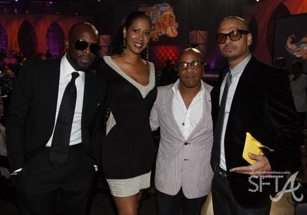 Joe, Sandy Lomax, Kedar Massenburg, and Chico DeBarge