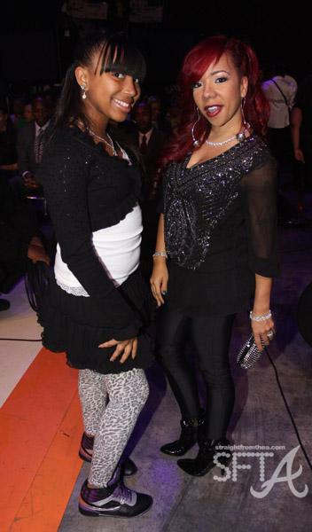"Tameka ""Tiny"" Cottle & Her Daughter Zonnique"