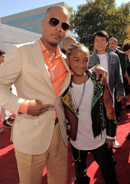 T.I. and Jaden Smith