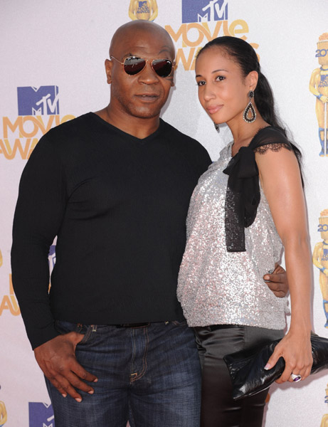 Mike Tyson & Wife