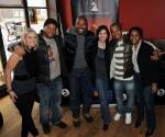 Hope Sonam Grammy U, Jason Geter - CEO Grand Hustle, Ryan Cameron - W-VEE, Michele Rhea Caplinger, T.I. and Erin Baxter