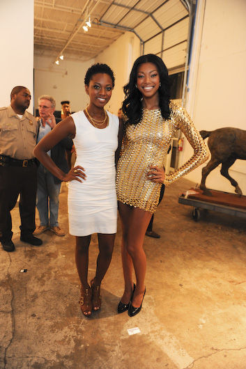 Bre Scullark and Golden Brooks, America's Next Top Model
