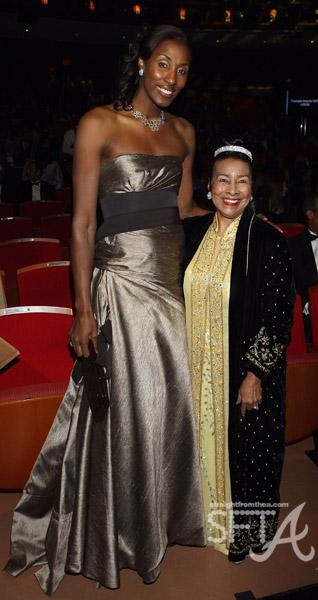 Lisa Leslie & Trumpet Awards Founder