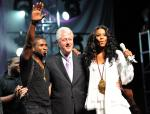 Usher, Bill Clinton & Ciara