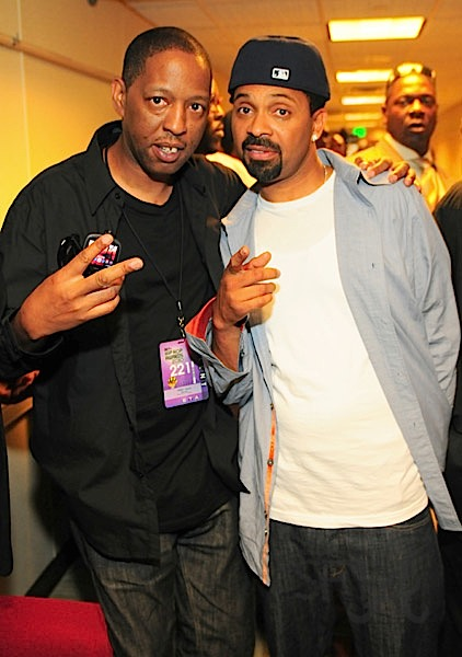Henry Welch and Mike Epps