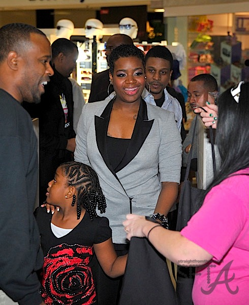 Fantasia and Her Daughter Zion