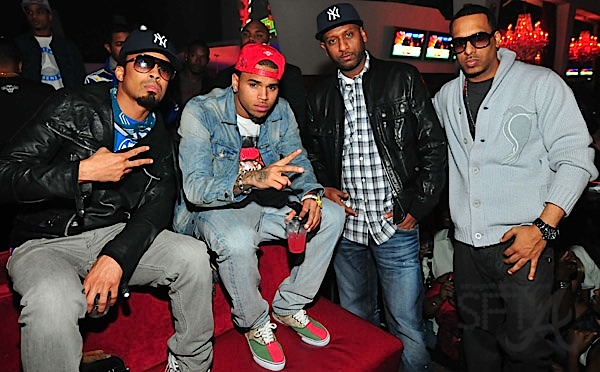 Dallas Austin Chris Brown Alex Gidewon Beestroh