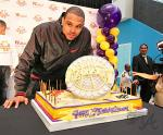 Shannon Brown & Cake
