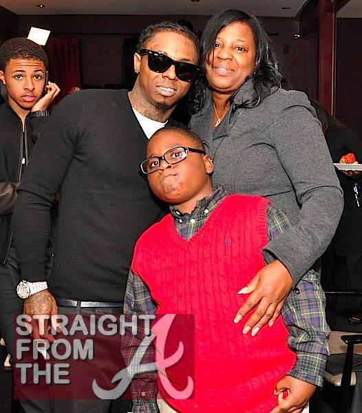 Lil Wayne Mom &... Lil Waynes Mom