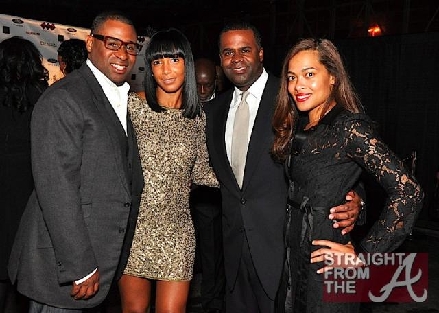 Ryan Glover & Wife, Kasim Reed & Date