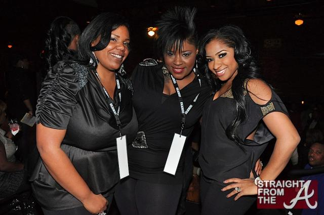 Toya and fans