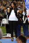 Jennifer Hudson sings national anthem ~ Superbowl XLIII