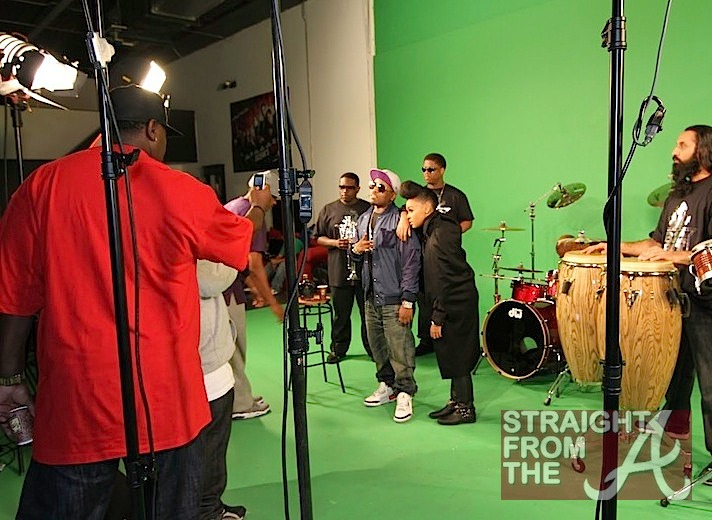 Be Still Video Shoot