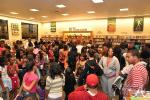 Toya Book Signing Crowd