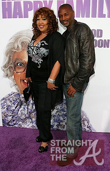 Kym Whitley and Rodney Van Johnson