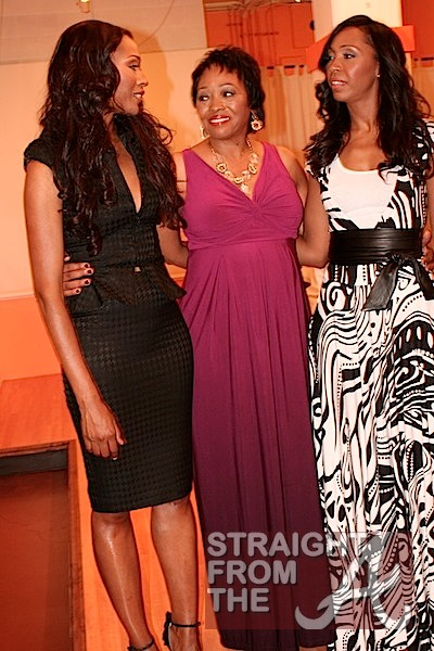Cynthia Bailey with Mom & Sis