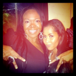 Michelle Brown (ATLien) and Lisa Wu-Hartwell
