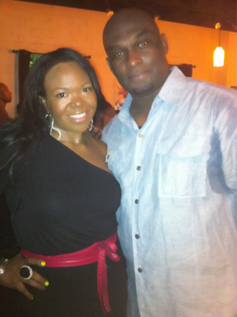 Michelle Brown (ATLien) and Tommy Ford