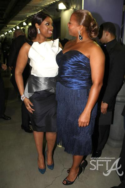 Jennifer Hudson & Queen Latifah