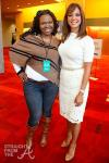 Michelle Brown (ATLien) and Eva LaRue