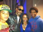 Snoop Dogg Shante Broadus and Kids