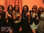 The Braxtons and Michelle Brown (ATLien)