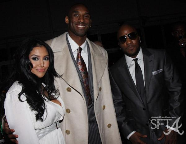 Kobe & Vanessa Bryant with Young Jeezy