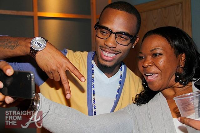 B.o.B. and Michelle ATLien Brown