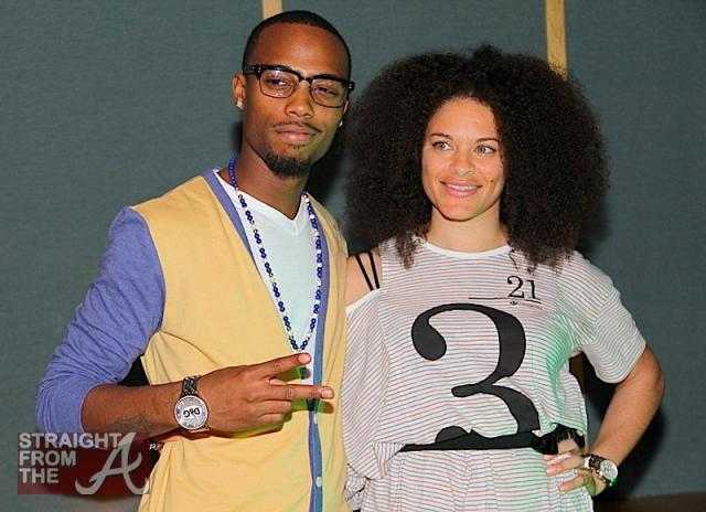 B.o.B. and Mali of Treesound Studios