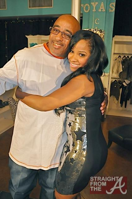 "Antonia ""Toya"" Wright and Her Dad"