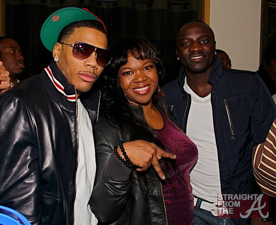 Nelly ATLien and Akon