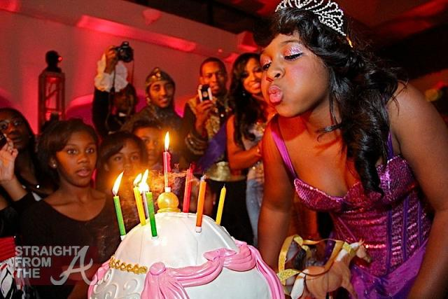 Reginae Carter Cinderella 13th Birthday-63