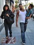 Jennifer Hudson and David Otunga with Son 120811-3