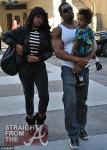 Jennifer Hudson and David Otunga with Son 120811-4