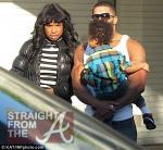 Jennifer Hudson and David Otunga with Son 120811-5