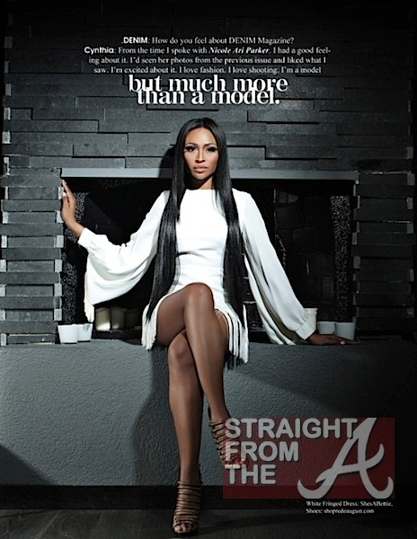 Cynthia Bailey Denim Magazine 2012-7
