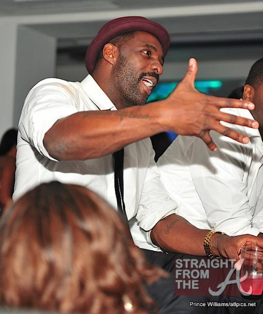 Idris Elba at Compound-1