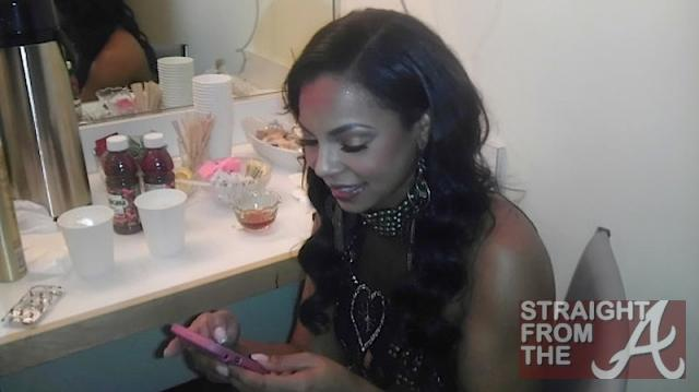 Ashanti Backstage