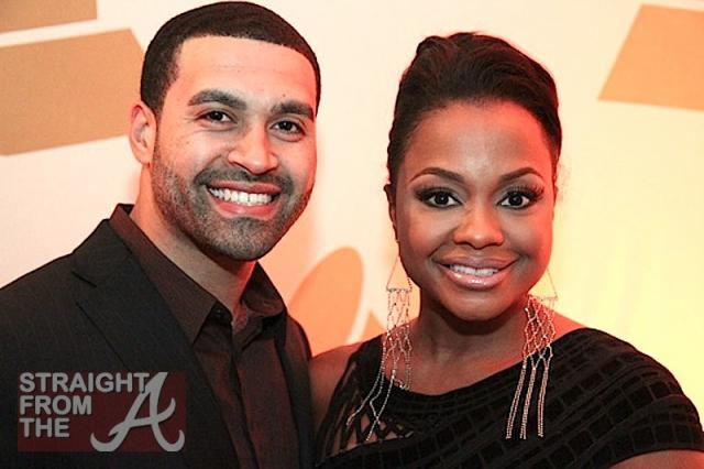 Phaedra Parks Apollo Nida - GA GRAMMY PARTY 2