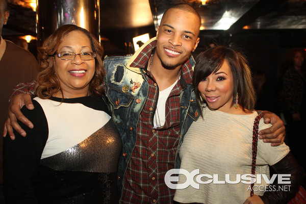 Violeta Morgan (T.I.'s mom), T.I. and Tiny