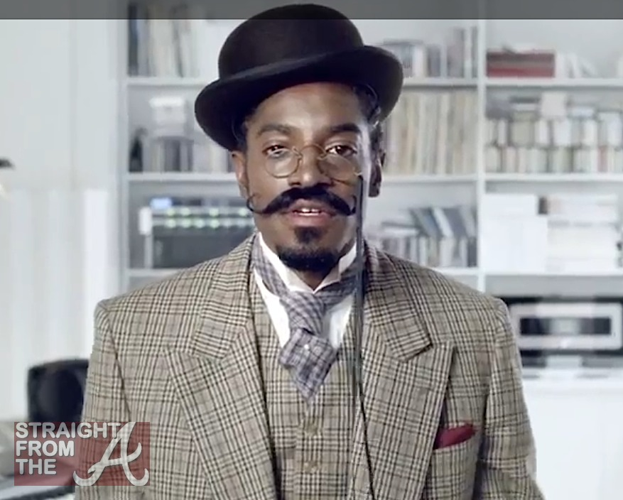 Andre 3000 Master of Style Gillette 14