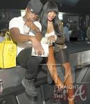 Neyo and Monyetta Shaw at Magic City ATL 020412-15