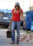 Ciara and Pups in LA 020912-4