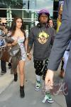 Lil Wayne and Dhea Hit Lakers Game 030412-10