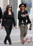 Beyonce Mama Tina and Blue Ivy Stroll in NYC - 031212-8