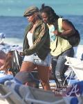 Mary j Blige Beach 031712-11