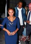 Beyonce and Jay-Z Leave NOBU 031912-4