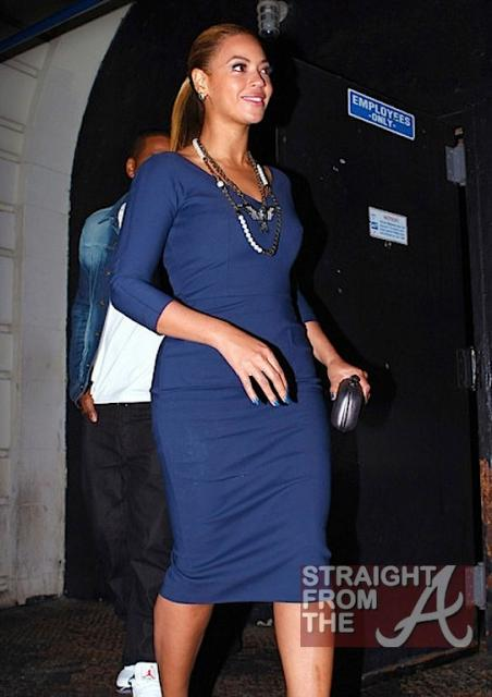 Beyonce and Jay-Z Leave NOBU 031912-5