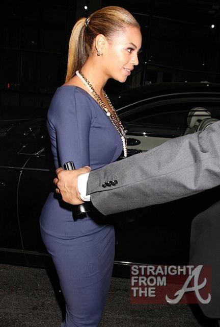 Beyonce and Jay-Z Leave NOBU 031912-19